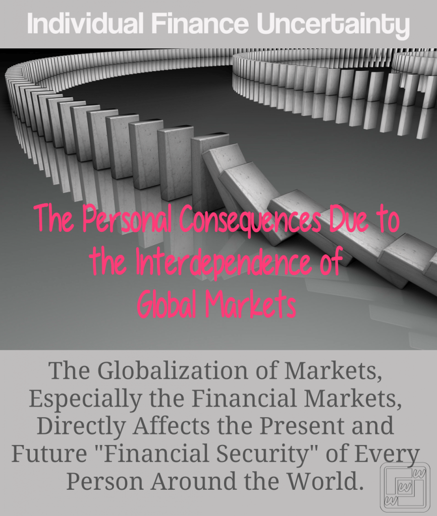 The Globalization of Markets, Directly Affects the Present and Future Financial Security of Every Person Around the World.