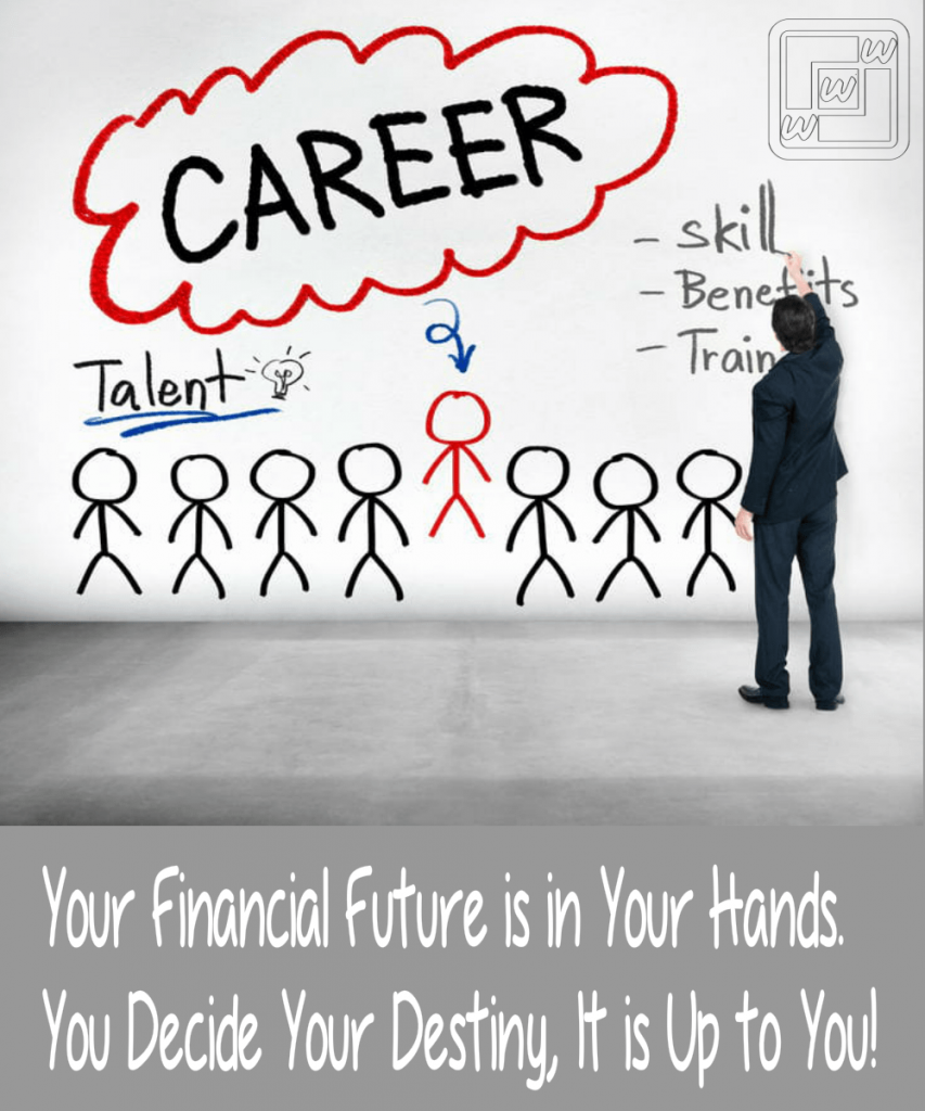 Your financial future is in your hand, a second career or a complementary one is waiting for you